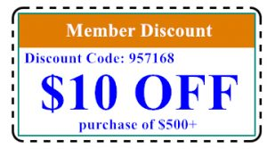 Member Discount Coupon